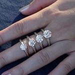 Different carat sizes