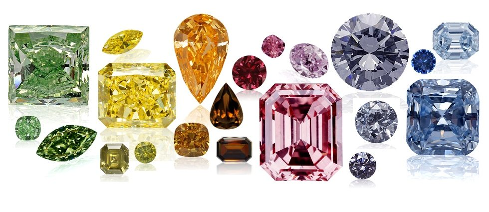 Fancy Colored diamonds