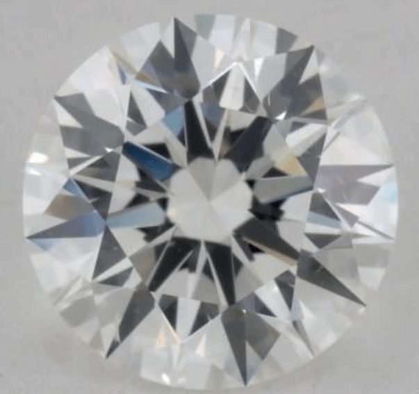 Example of an eye clean SI1 diamond