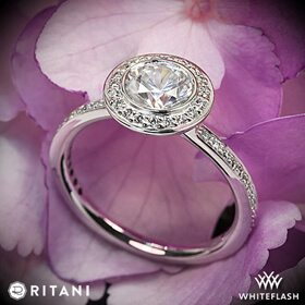 Ritani ring settings at Whiteflash