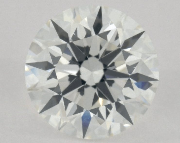 Round cut diamond by James Allen