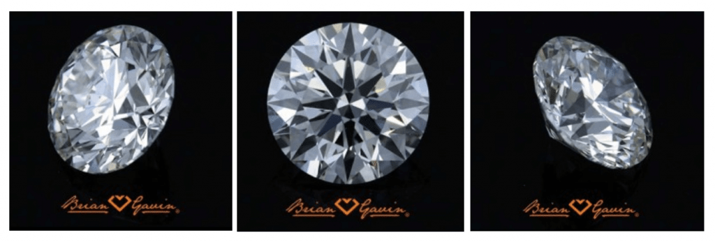 Viewing a diamond from all sides at Brian Gavin