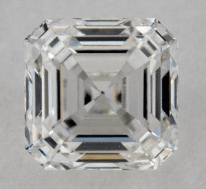 Asscher Diamond Shape 0.91ct G-VS2 Excellent