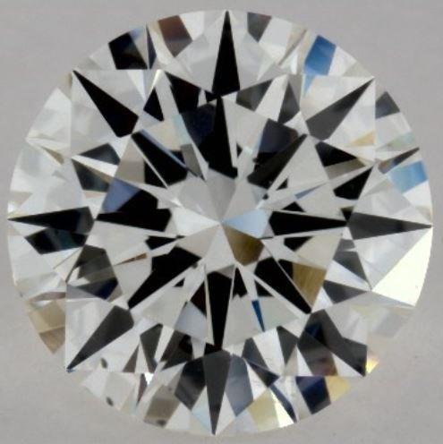 Diamond with a lot of brilliance (white light)