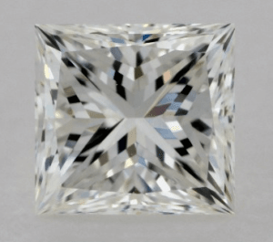 Princess Diamond Shape 0.9ct G-VS2 Excellent
