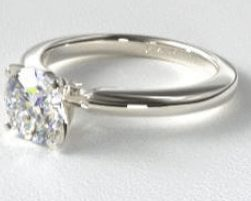 solitaire engagement ring setting - Wedding Ring Vs Engagement Ring
