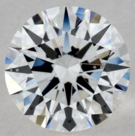 Eye Clean SI1 Diamond with small crystal inclusion