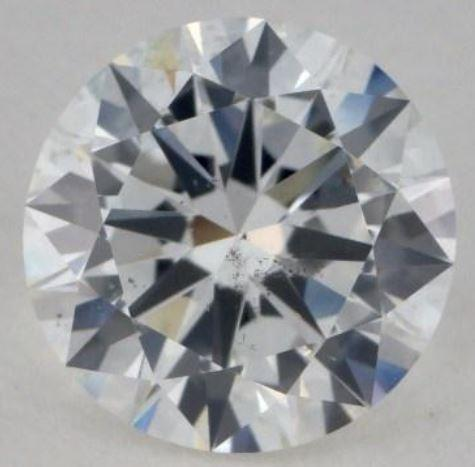 Eye clean SI1 Diamond with a cloud inclusion