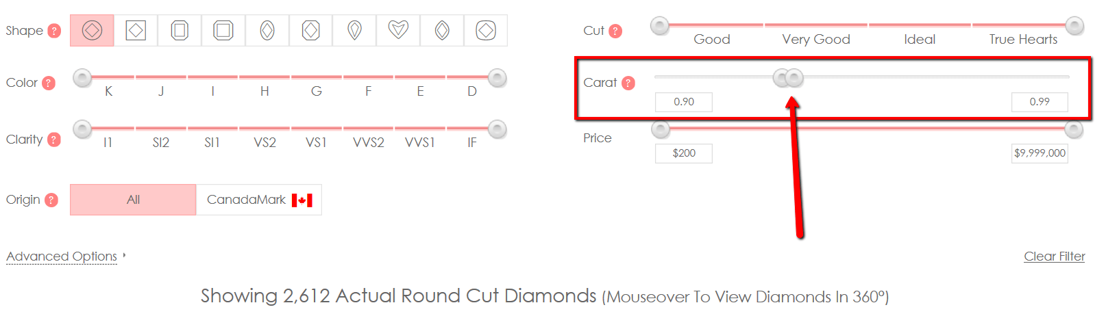 2612 Results for Diamonds between 0.90ct and 0.99ct.JPG
