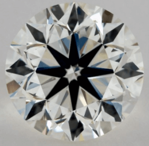3 CARAT K-VVS2 VERY GOOD CUT ROUND DIAMOND