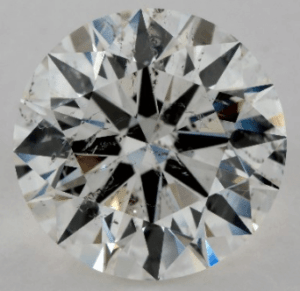Not Eye Clean 5 CARAT H-SI2 EXCELLENT CUT ROUND DIAMOND