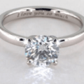 James Allen VS1 Diamond Ring