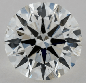 EYE CLEAN 1 CARAT G-SI2 EXCELLENT CUT ROUND DIAMOND