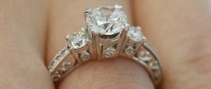 A Cut Above Engagement Ring