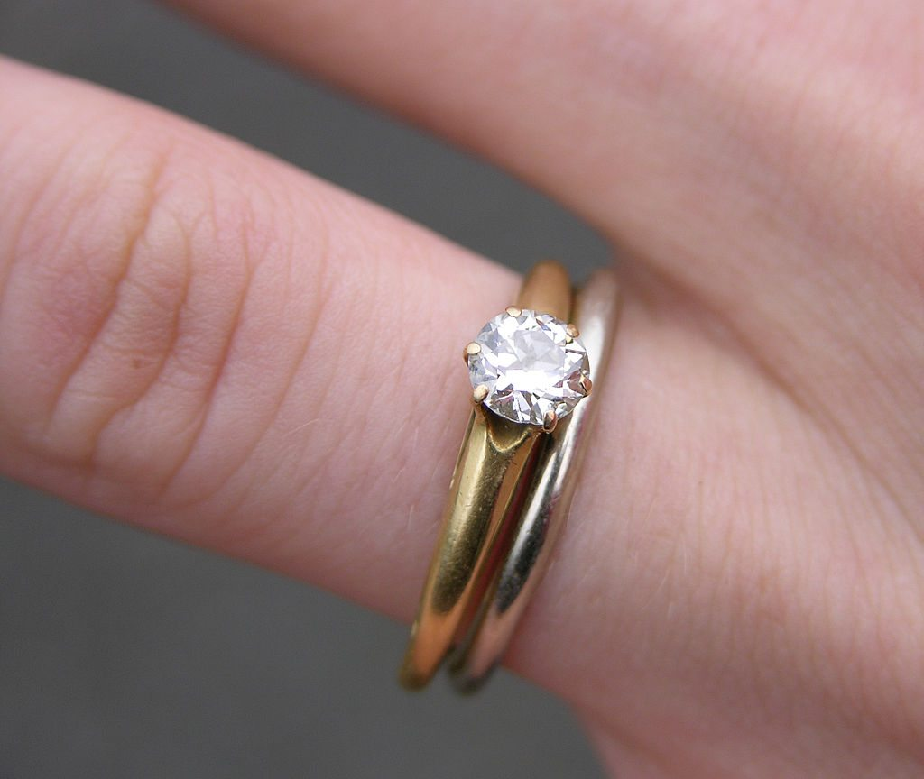 Engagement Ring and Wedding Ring - Your Diamond Teacher