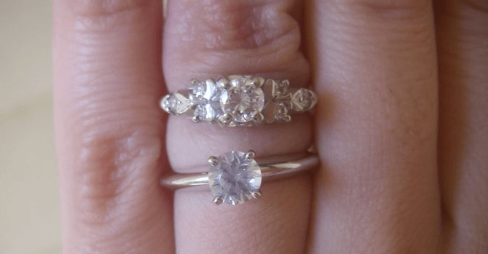 Diamond Carat Size Pictures  POPSUGAR Fashion