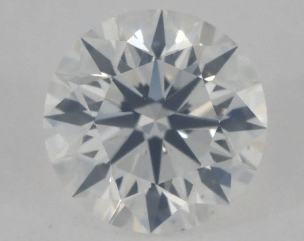 rock colorless in diamond fluorescent topic the b forum fluorescence hazy review diamonds