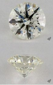 K colored diamond