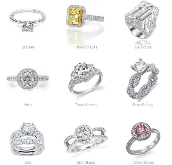 The Ultimate Engagement Ring Settings Guide with all Pros ...