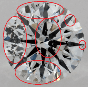 1 CARAT F-I1 EXCELLENT CUT ROUND DIAMOND