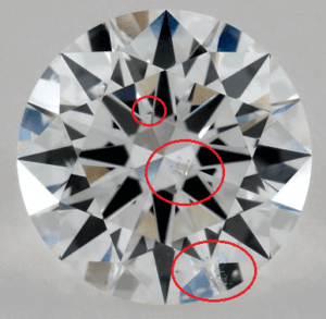 1 CARAT F-SI1 EXCELLENT CUT ROUND DIAMOND