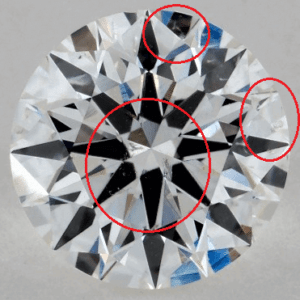 1 CARAT F-SI2 EXCELLENT CUT ROUND DIAMOND