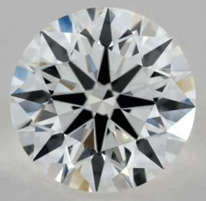 1 CARAT F-VS1 EXCELLENT CUT ROUND DIAMOND