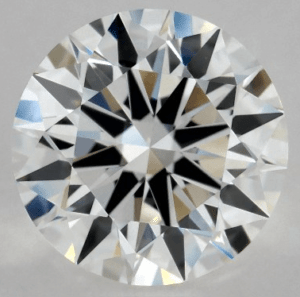 1 CARAT F-VVS1 EXCELLENT CUT ROUND DIAMOND
