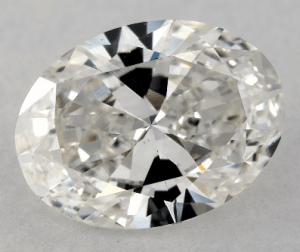 1.00 CARAT G-VS2 OVAL CUT DIAMOND