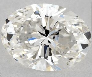 1.01 CARAT G-VS2 OVAL CUT DIAMOND