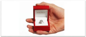 James Allen Ring Box