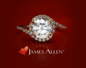 James Allen Round Cut Diamond