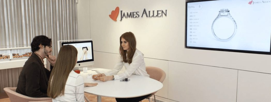 James Allen Showroom in New York