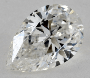 Pear Diamond Shape 0.9ct G-VS2