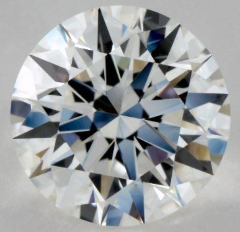 1.01ct F-colored SI1 Diamond