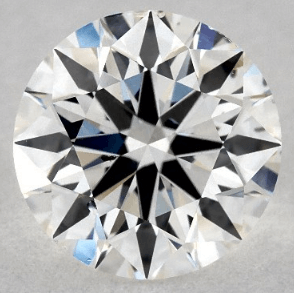 0.90 CARAT G-SI1 EXCELLENT CUT ROUND DIAMOND