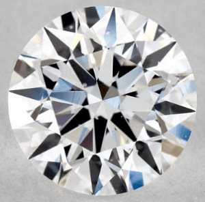 1.00 CARAT D-SI1 EXCELLENT CUT ROUND DIAMOND