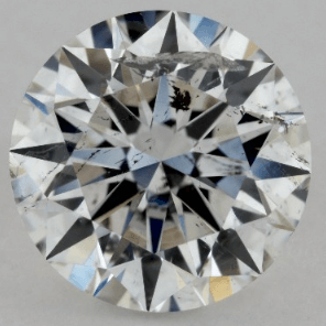 1.00 CARAT G-I1 EXCELLENT CUT ROUND DIAMOND