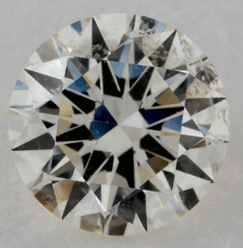 1.00 CARAT K-SI1 EXCELLENT CUT ROUND DIAMOND