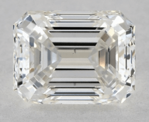 1.01 CARAT G-VS2 EMERALD CUT DIAMOND