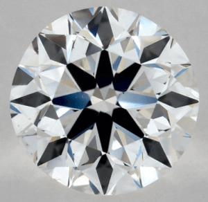Faint Fluorescence 1.00 CARAT F-VS2 EXCELLENT CUT ROUND DIAMOND