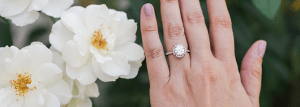 James Allen Eye Clean Engagement Ring