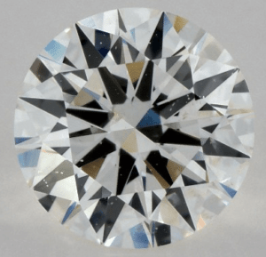 Medium Fluorescence 1.00 CARAT H-SI1 EXCELLENT CUT ROUND DIAMOND