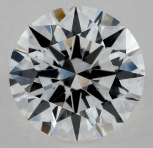 Strong Flourescence 1.00 CARAT E-VS2 EXCELLENT CUT ROUND DIAMOND