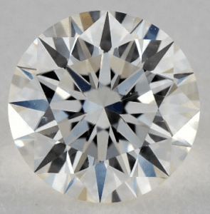 Strong Fluorescence 1.00 CARAT J-VS1 EXCELLENT CUT ROUND DIAMOND