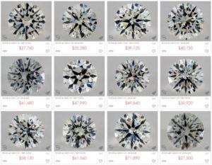4-carats-price-range
