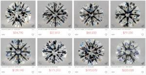 5 carats price range