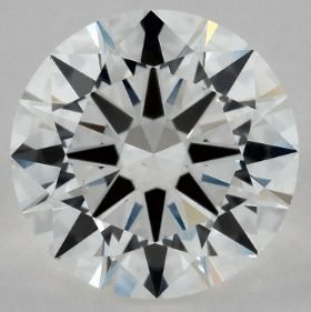 EYE CLEAN 0.90 CARAT G-VS2 EXCELLENT CUT ROUND DIAMOND 2