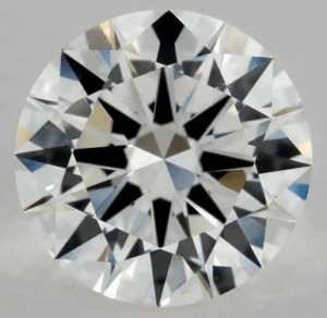 0.90 CARAT G-VVS2 EXCELLENT CUT ROUND DIAMOND 2