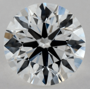 0.90 CARAT G-VVS2 EXCELLENT CUT ROUND DIAMOND
